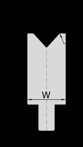 Гибочная матрица для листогибочных прессов системы Beyeler-Bystronic