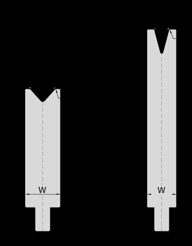 Гибочная матрица для листогибочных прессов системы Trumpf-WILA