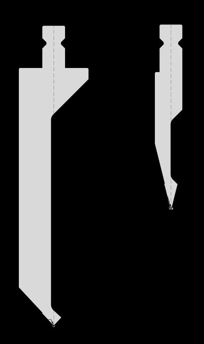 Гибочный пуансон для листогибочных прессов системы Trumpf-WILA